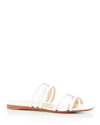Marion Parke Jojo Geometric Patent Leather Sandals