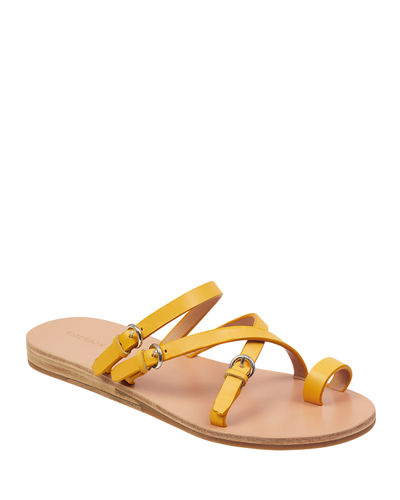 0d62273a39 Yellow Strap Sandals | Neiman Marcus