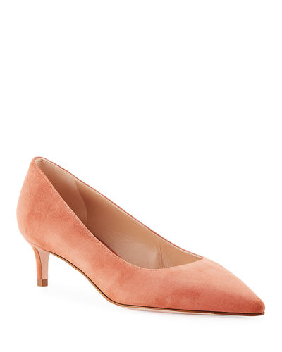 Leigh 45mm Suede Pumps
