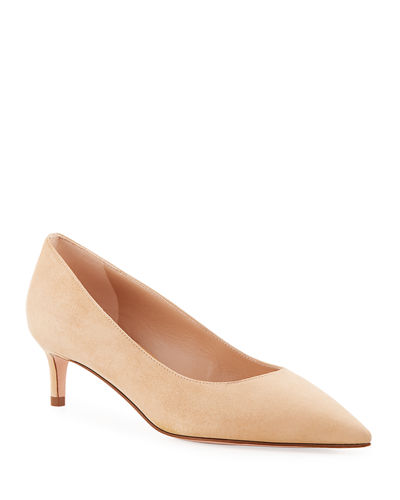 52c08726ef7 Quick Look. Stuart Weitzman · Leigh 45mm Suede Pumps