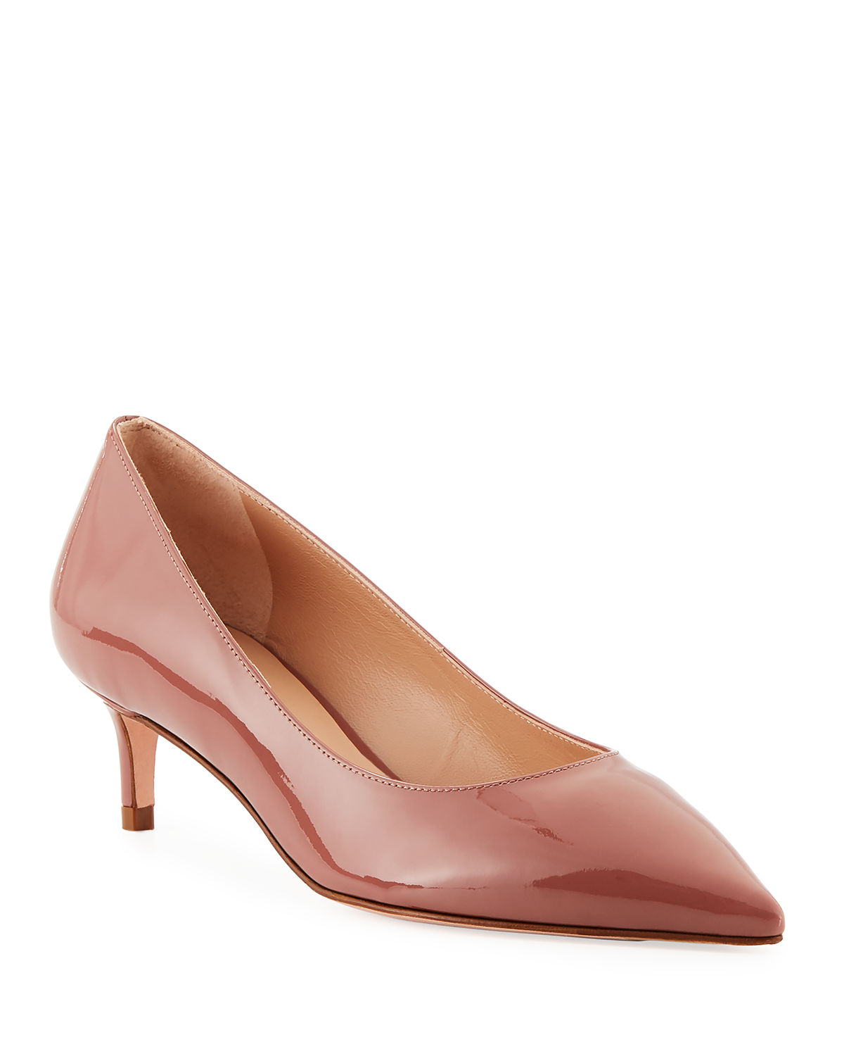 Leigh 45mm Patent Leather Pumps