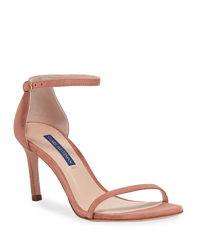 7537ae717de Quick Look. Stuart Weitzman · Nudist 80 Ankle-Strap Sandals