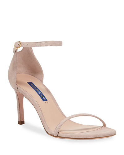 Nudist 80 Ankle-Strap Sandals