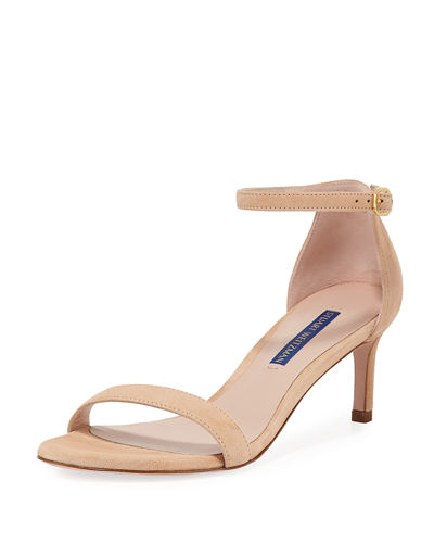 Nunaked Straight Suede Sandals