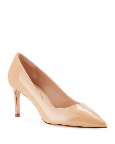 Leigh 70mm Patent Leather Pumps