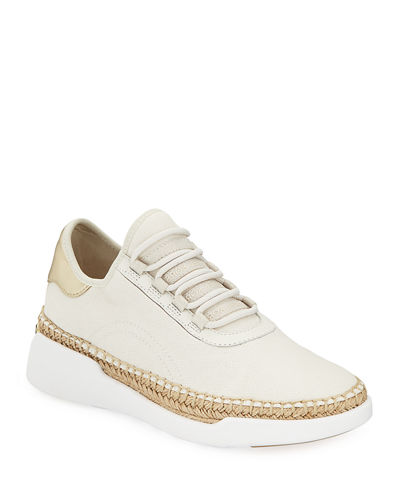 MICHAEL Michael Kors Finch Lace-Up Wedge Espadrille Sneakers