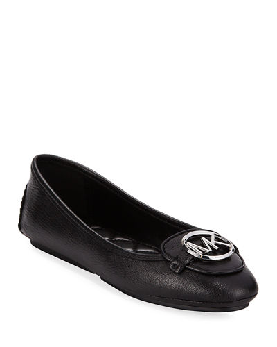 Lillie Goat Leather Driver Flats