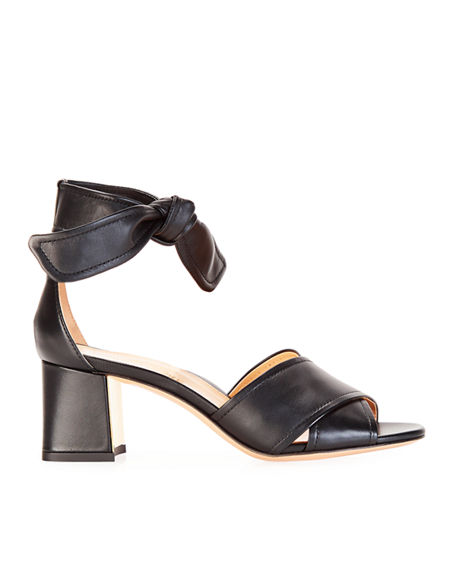 Image 2 of 3: Marion Parke Bella Crisscross Ankle-Tie Sandals