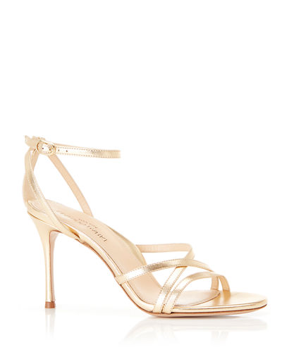 5810650118 Gold Evening Shoes | Neiman Marcus
