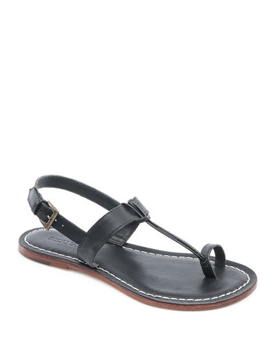 Maverick Toe-Strap Flat Sandals