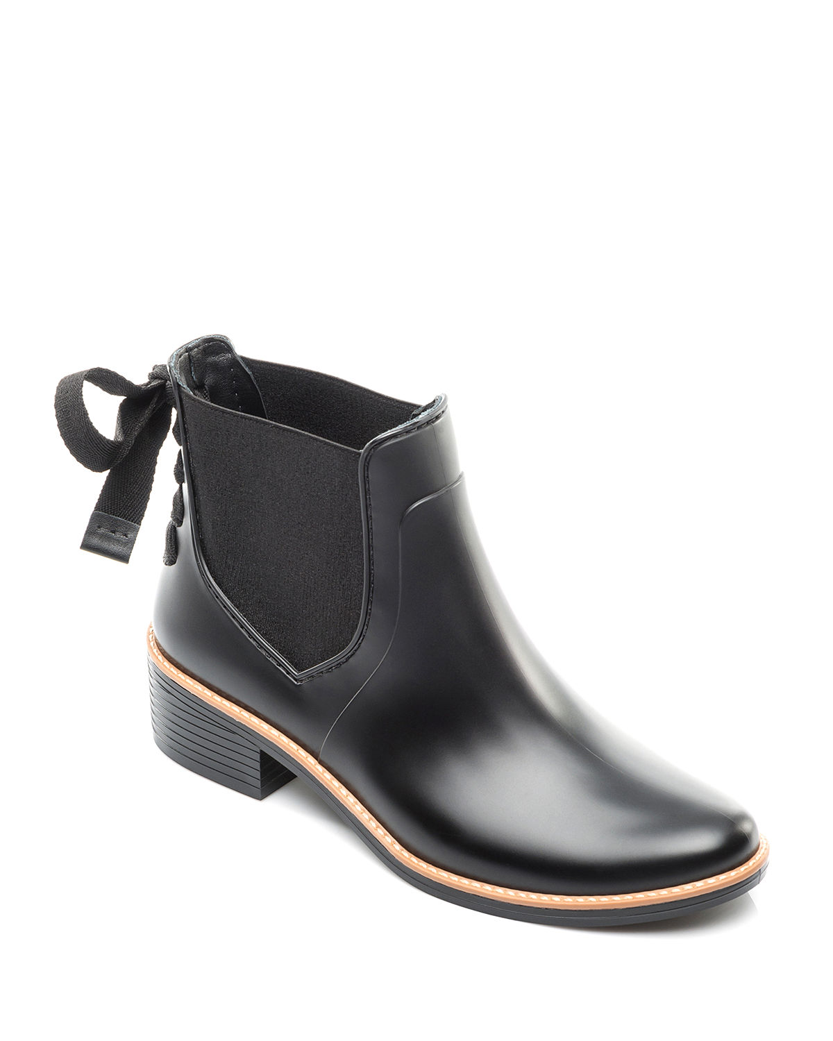Paxton Lace-Up Rain Boots