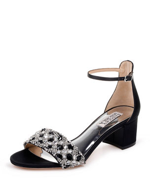 5c5ceefa5a3a Badgley Mischka Liz Embellished Flat Sandals