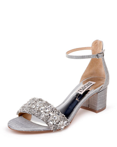 Liz Embellished Flat Sandals