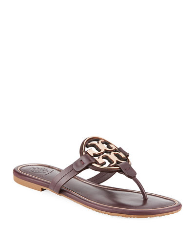 ef39967f0 Quick Look. Tory Burch · Miller Flat Metal Logo Slide Sandals