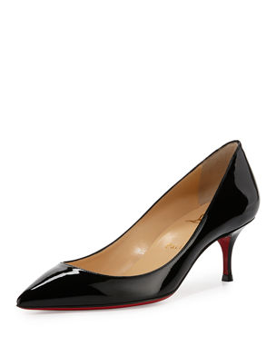 Christian Louboutin Pigalle Follies Degrade Patent Red Sole Pump d719377adb