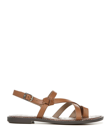 e23f66b33 Image 2 of 4  Gladis Strappy Leather Flat Sandals