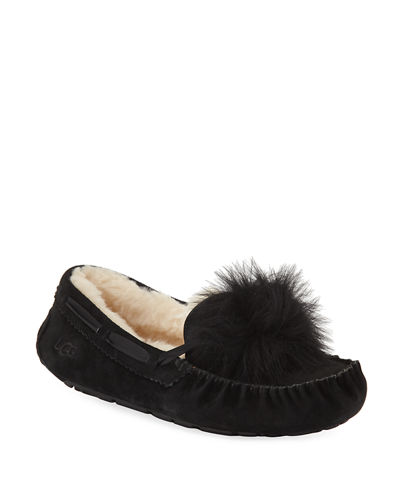 c9953c668de Ugg Black Flat Shoes | Neiman Marcus