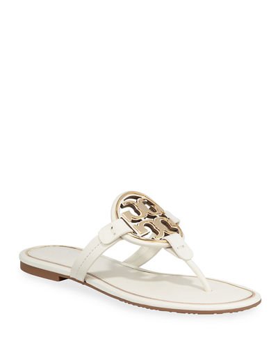97e947b4f Quick Look. Tory Burch · Metal Miller Logo Leather Sandals