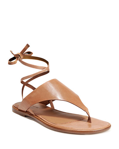 Eastwood Flat Leather Sandals