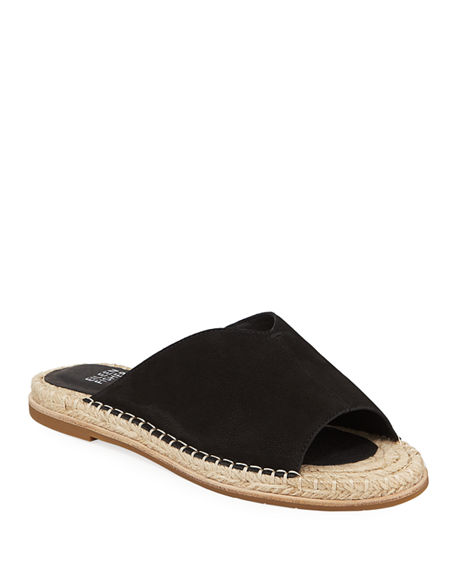 Eileen Fisher Sandals MILLY LEATHER ESPADRILLE SANDALS