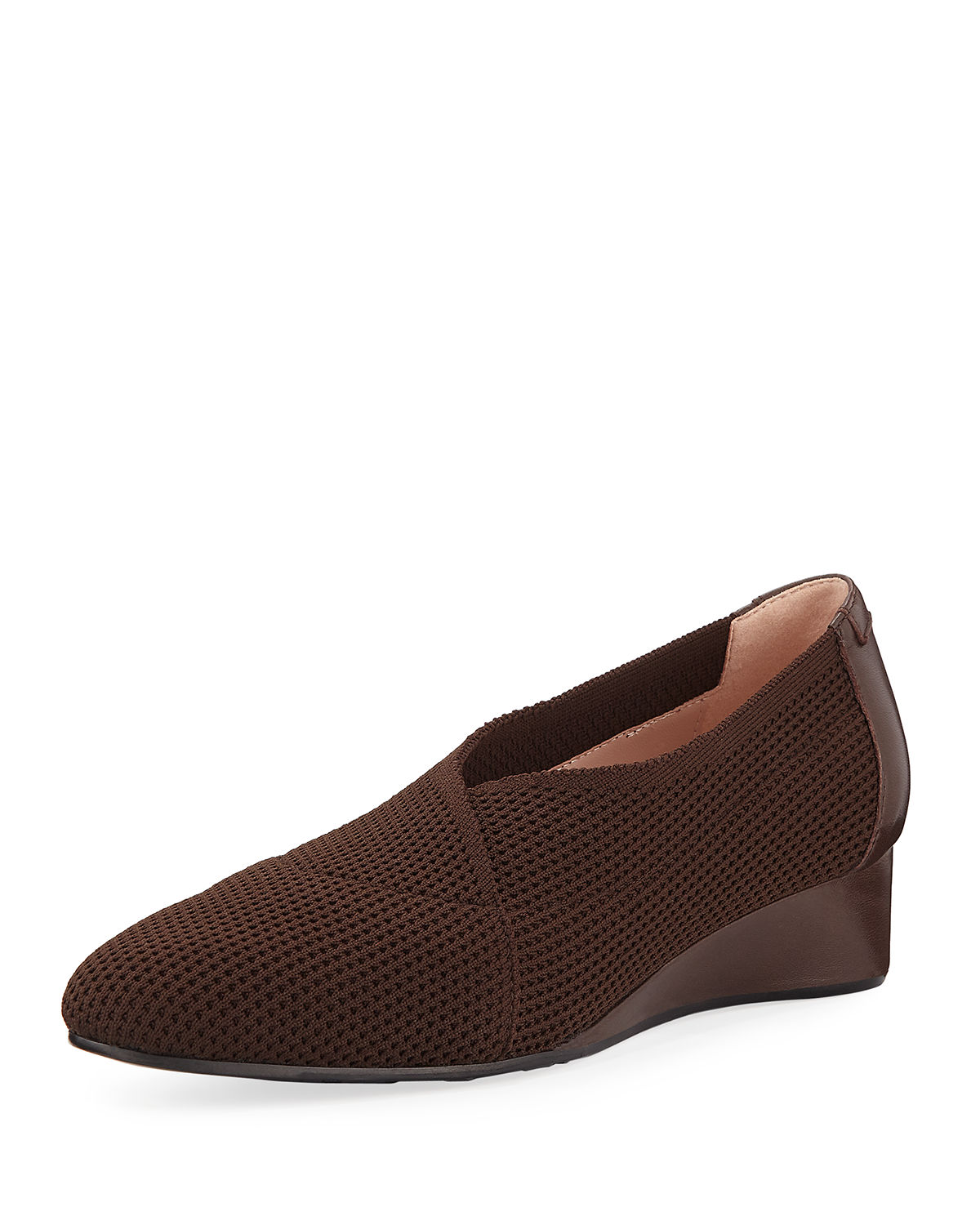 Celeste Demi-Wedge Knit Pumps