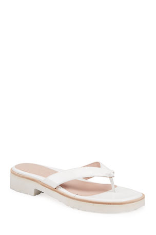 Taryn Rose Collection Taziana Patent Thong Sandals