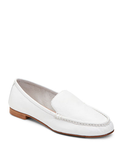 Diana Tumbled Leather Loafers