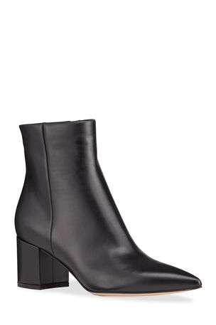 Gianvito Rossi Calf Leather Ankle Booties