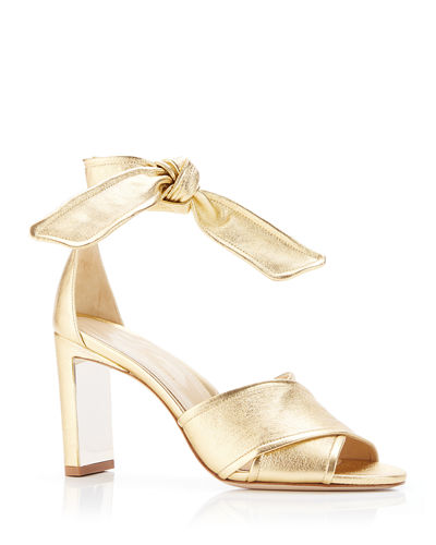 c921fc2ecb01 Quick Look. Marion Parke · Leah Metallic Leather Ankle-Tie Sandals