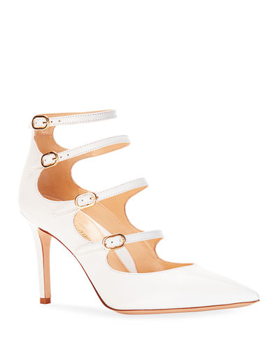 Mitchell Iconic Strappy Calf Leather Pumps