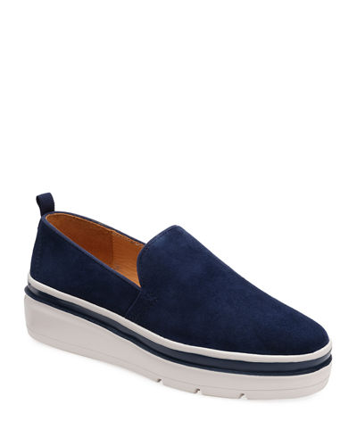 Sutton Suede Chunky Sneakers
