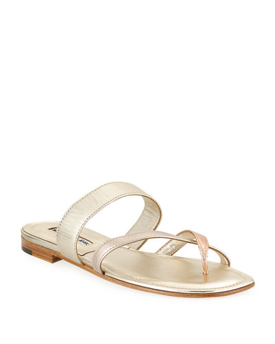 Susa Flat Leather Sandals