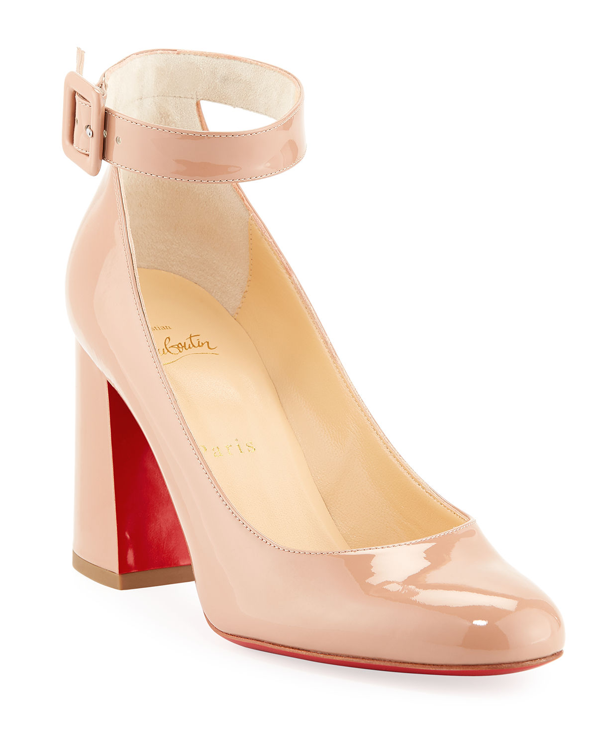 Christian Louboutin Naked Bow Red Sole Pumps | SCHUHE