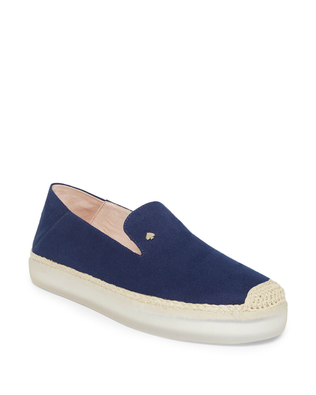 d679bd80f175 kate spade new york lisa canvas sneaker-style espadrilles