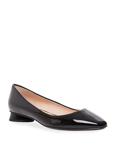 fallyn patent leather ballet flats