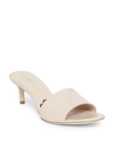 savvi patent slide sandals