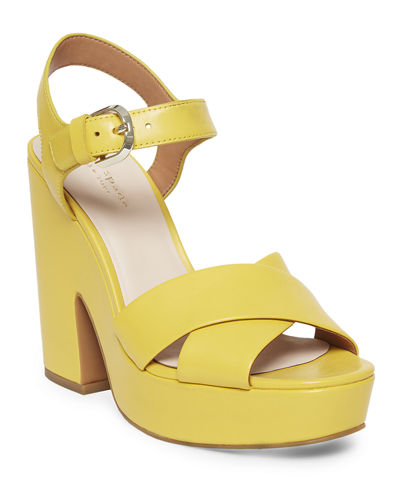 grace leather platform sandals