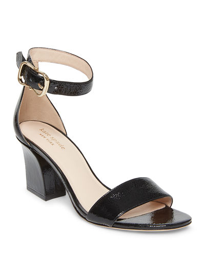 susane leather ankle-wrap sandals