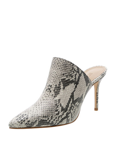 Bardot Moc Exotic Pointed Mules