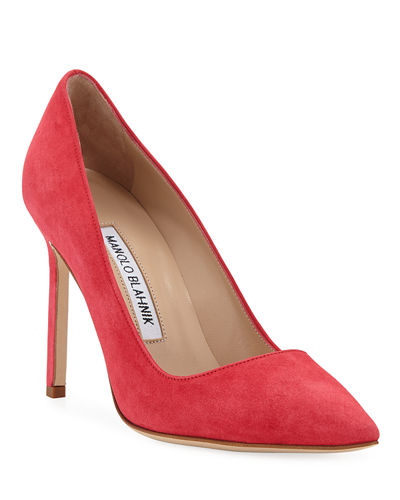 BB 105mm Suede Pump