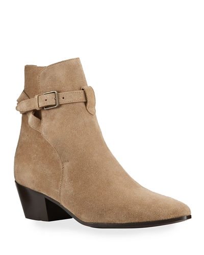 41fefaddf Quick Look. Saint Laurent · Wyatt Suede Ankle Booties