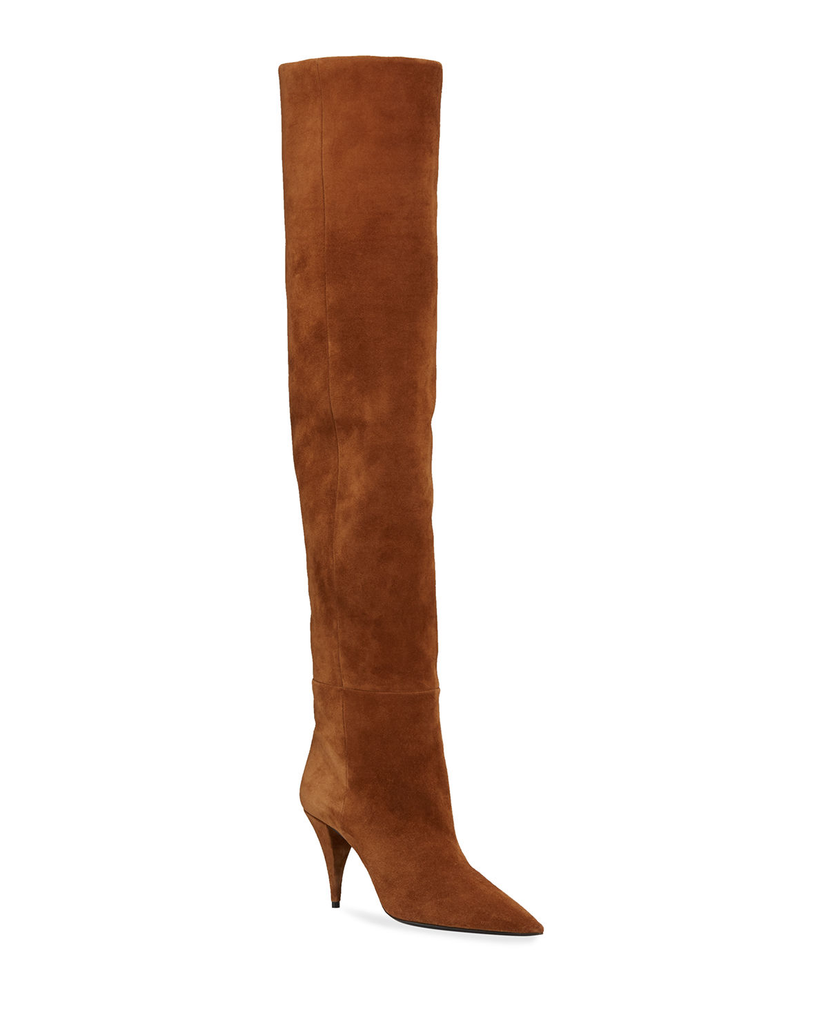 Kiki Suede Over-The-Knee Boots