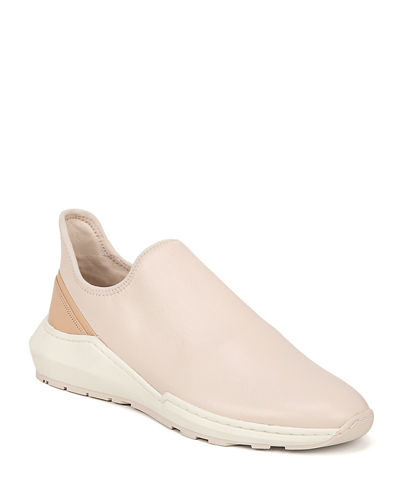 Marlon Leather Slip-On Sneakers