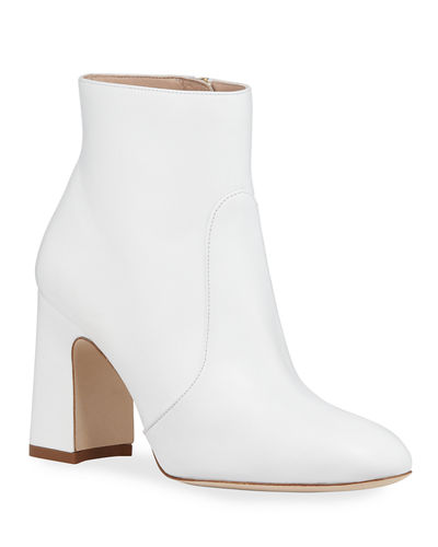 Nell Smooth Napa Booties