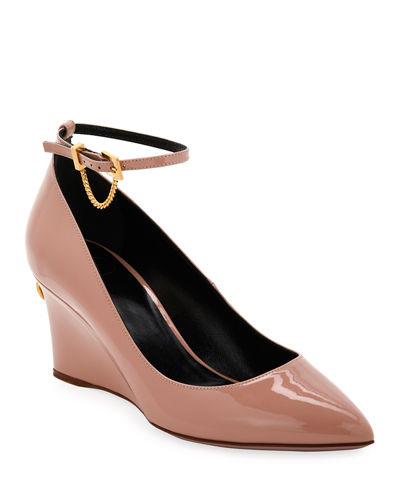 Ringstud Mary Jane Pumps
