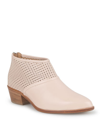 Rinella Perforated Ankle Boots