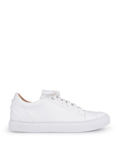 Italeau Una Leather Lace-Up Sneakers