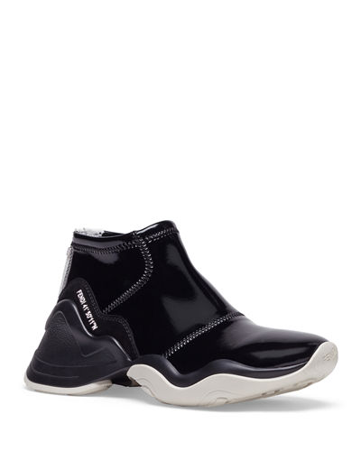 Fendi Neoprene Two-Tone Sneakers