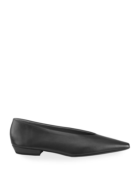Image 2 of 4: Bottega Veneta Almond Flats
