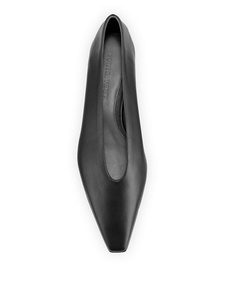 Image 3 of 4: Bottega Veneta Almond Flats